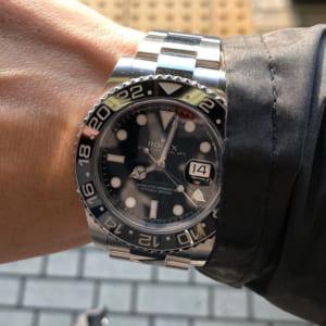 装着した腕時計