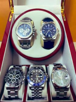 五本の腕時計